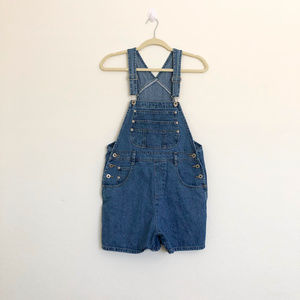 Canyon River Blues Vintage Short Denim Overalls